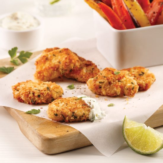 Croquettes de poulet sans friture