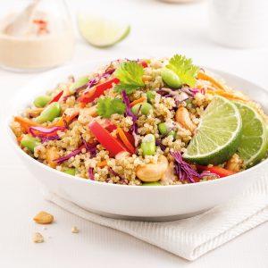 Salade de quinoa à la thaïe