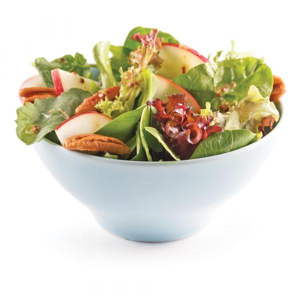 Salade pomme et noix
