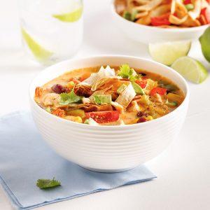 Soupe au poulet à la mexicaine à la mijoteuse