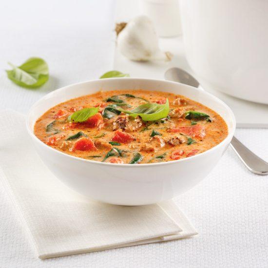 Soupe crémeuse à l'italienne