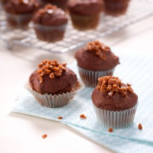 Mini-muffins au chocolat sans oeufs