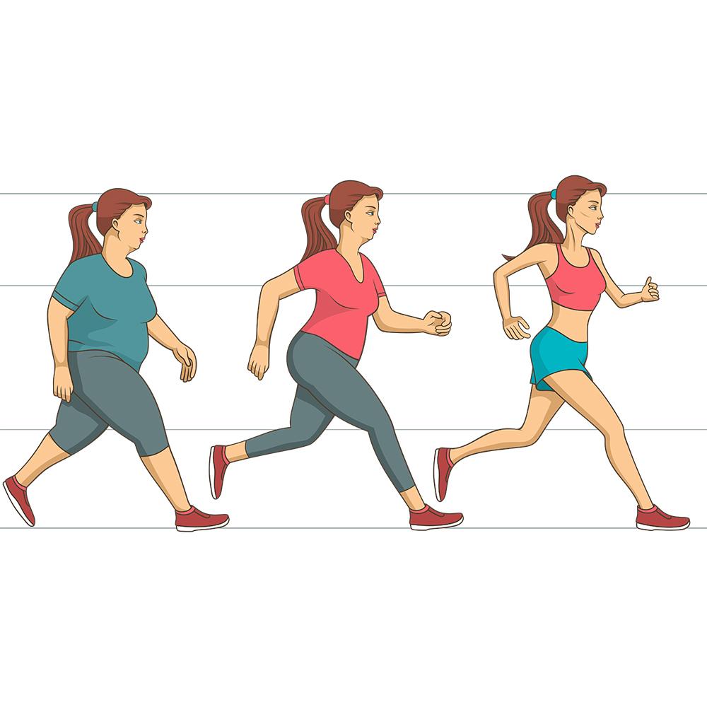 Le sport: indispensable à la perte de poids