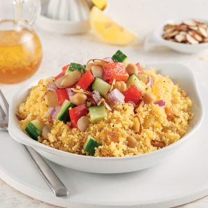 Salade de couscous végétarienne à la marocaine