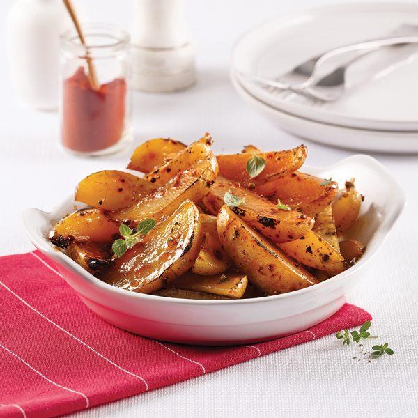 Pommes de terre en papillote