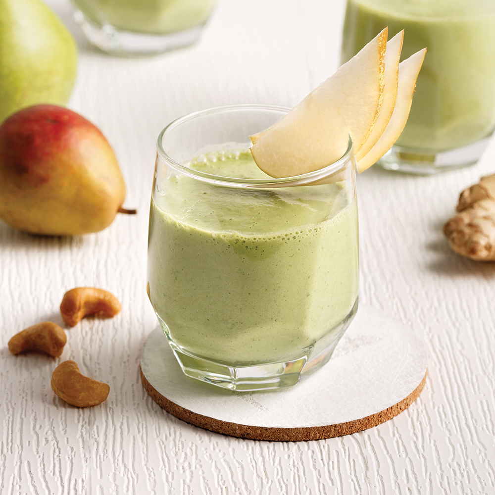 Smoothie poire et gingembre