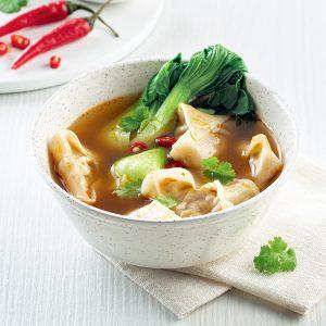 Soupe wonton à la PVT