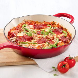 Casserole style pizza