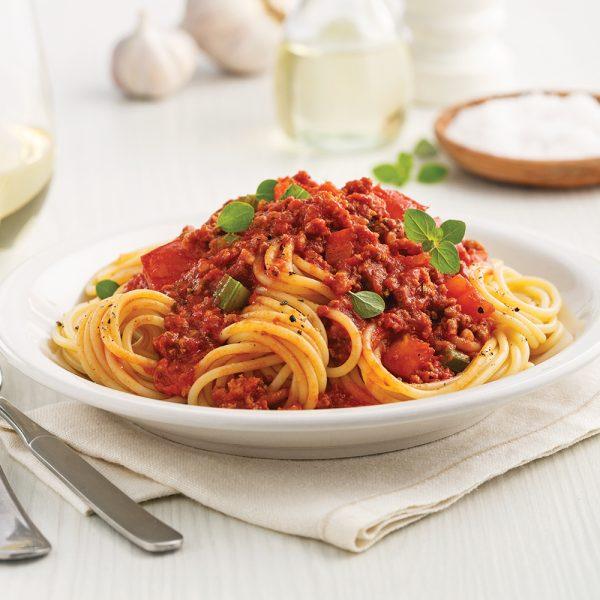 Sauce à spaghetti aux saucisses italiennes à la mijoteuse