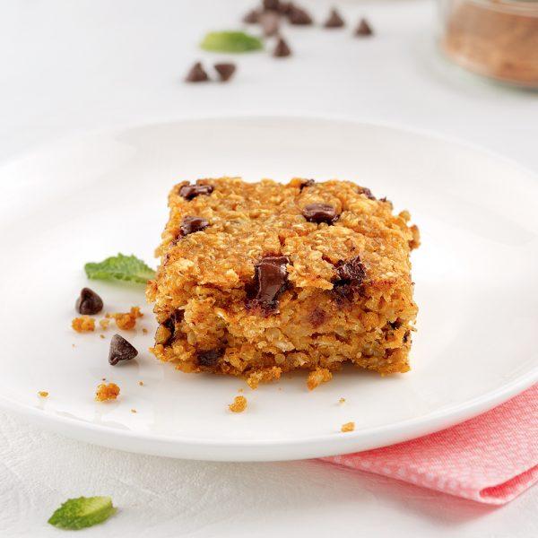 Carrés quinoa, citrouille et chocolat noir