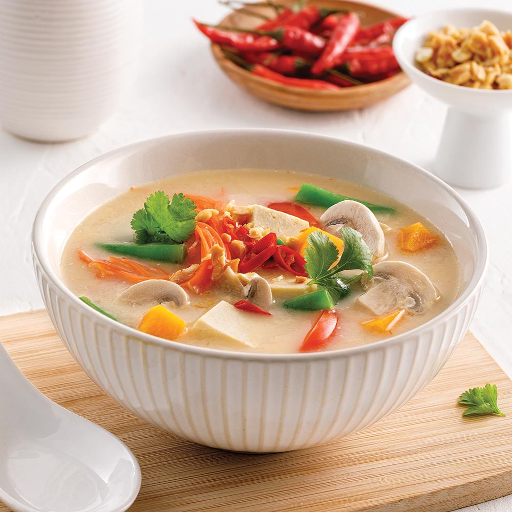 Soupe asiatique au parfum d'érable