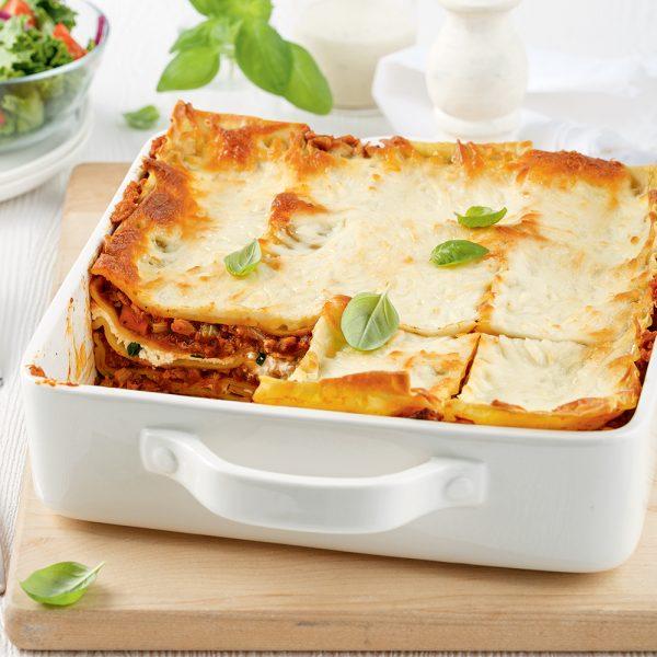 Lasagne bolognaise végétarienne