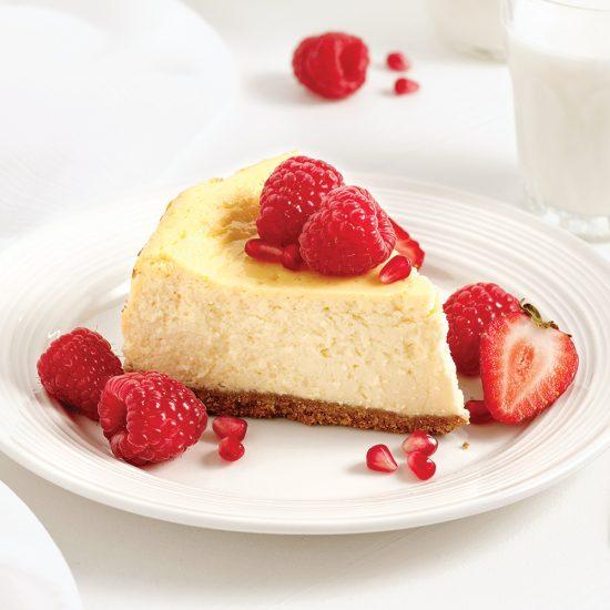 Cheesecake au yogourt grec