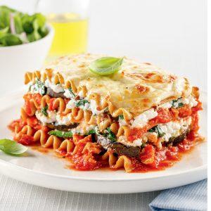Lasagne aux légumes et tofu
