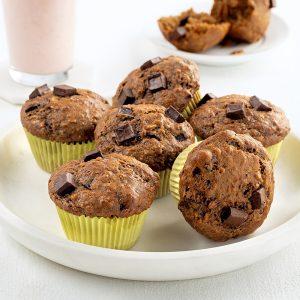 Muffins banane et café