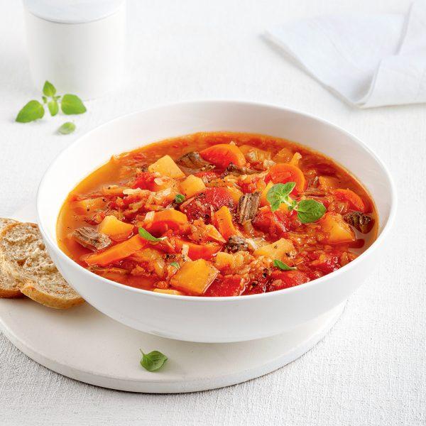 Soupe aux légumes de maman