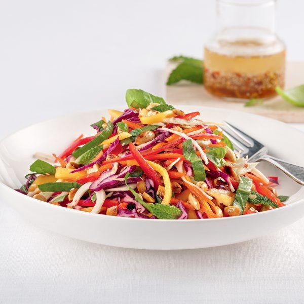 Salade de chou aux arachides