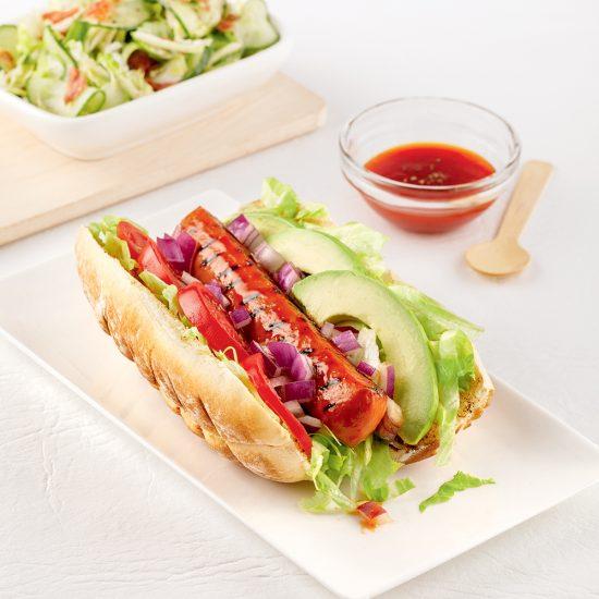 Hot-dog californien