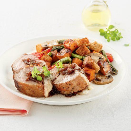 Filet de porc style soupe à l'oignon