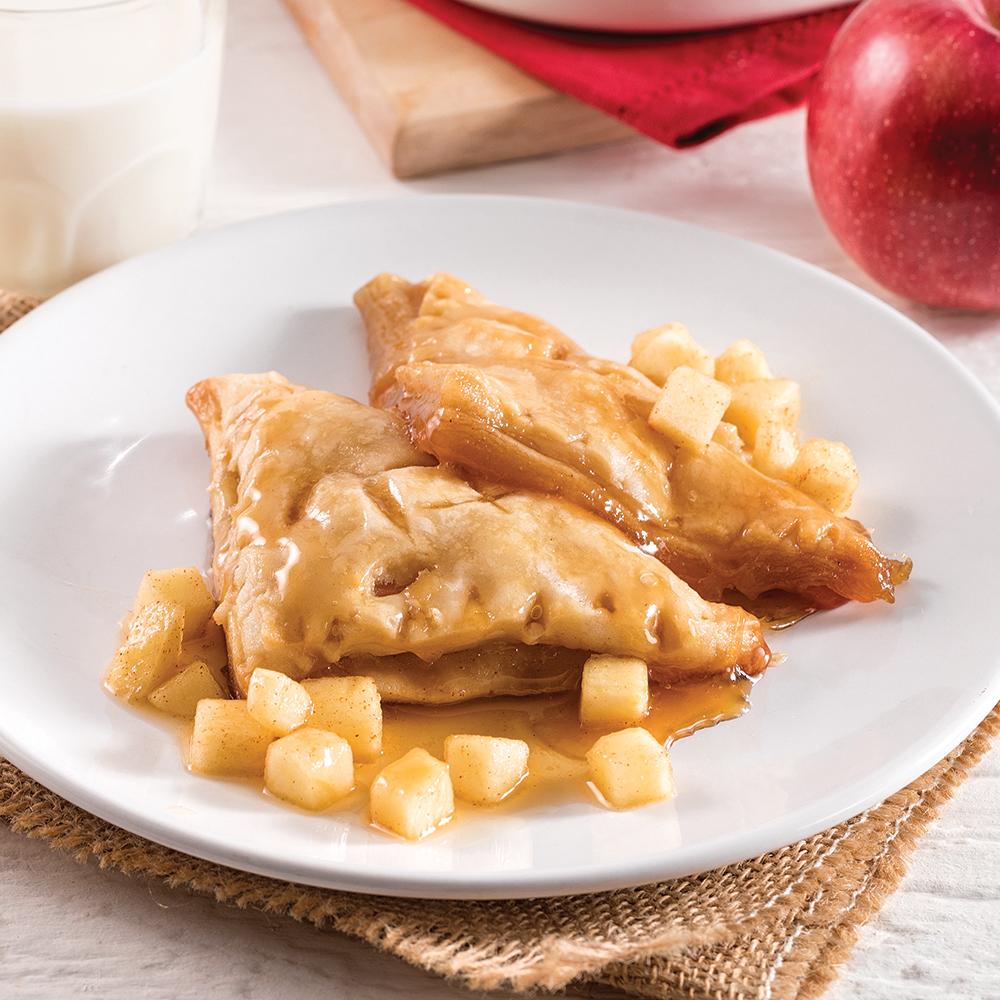 Chaussons aux pommes et à l'érable