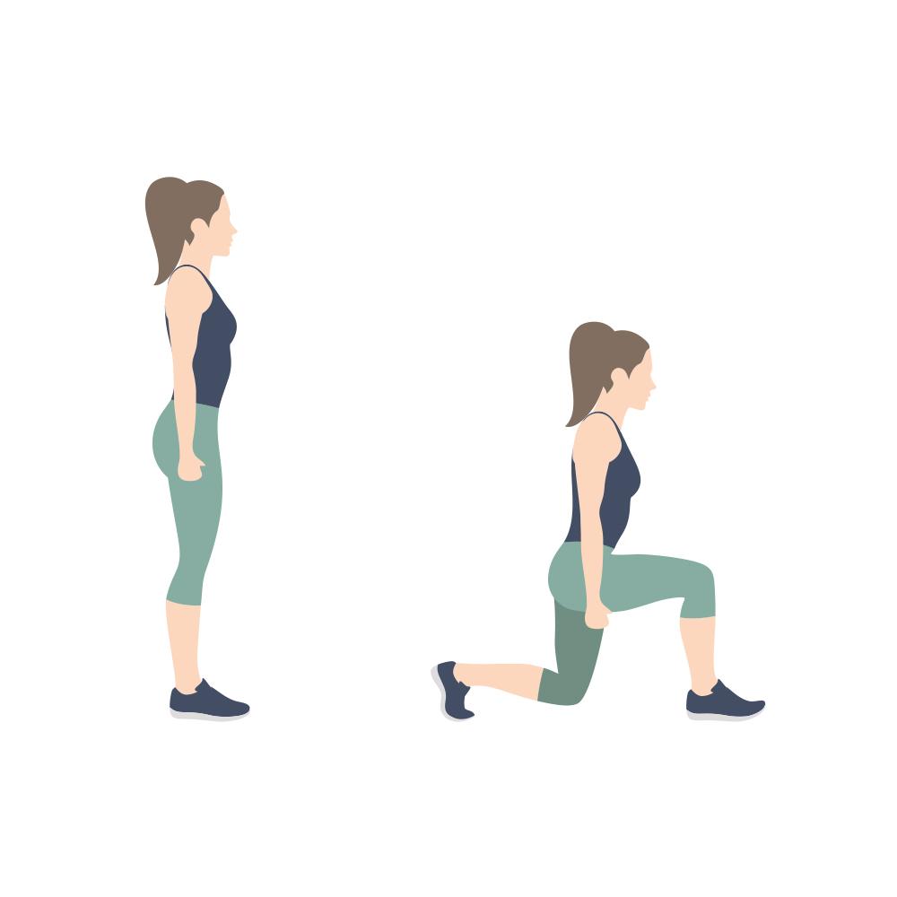 L'exercice payant du mois: La fente