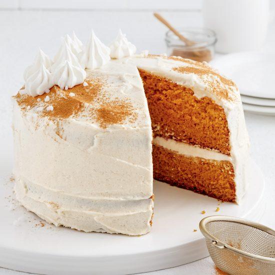 Gâteau chai à la citrouille