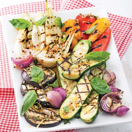 8 légumes à faire griller
