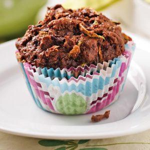 Muffins moelleux au chocolat  et ingrédient magique