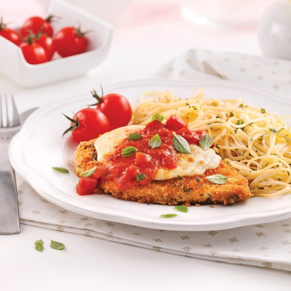 Escalopes de poulet parmigiana