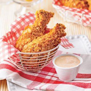 Pilons de poulet croustillants sans friture