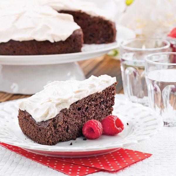 Gâteau choco-courgette