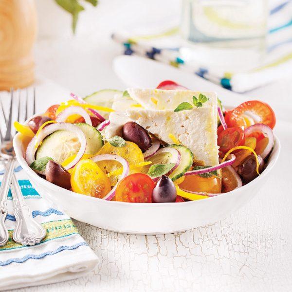 Salade grecque classique