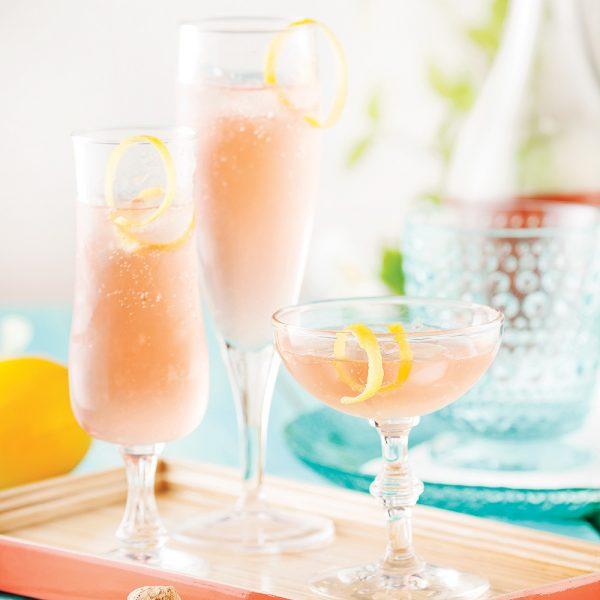 Rosé mousseux tequila-citron