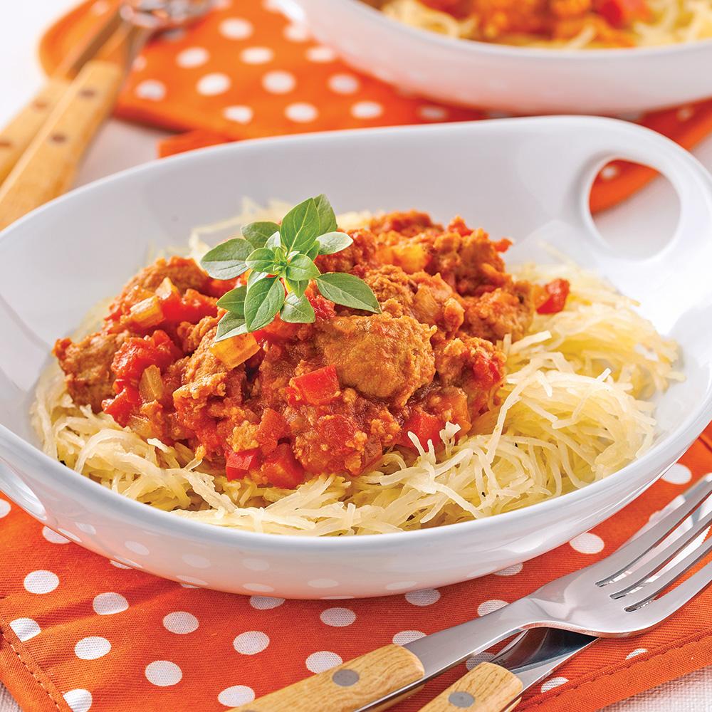 Sauce italienne à la chair de saucisse
