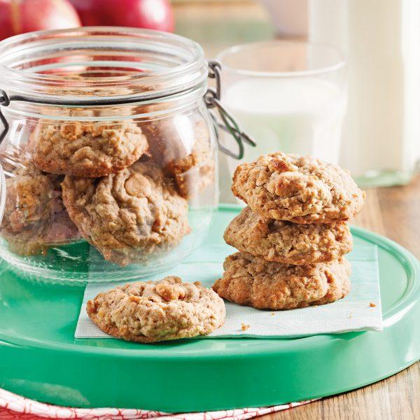 Biscuits à l'avoine et caramel au beurre