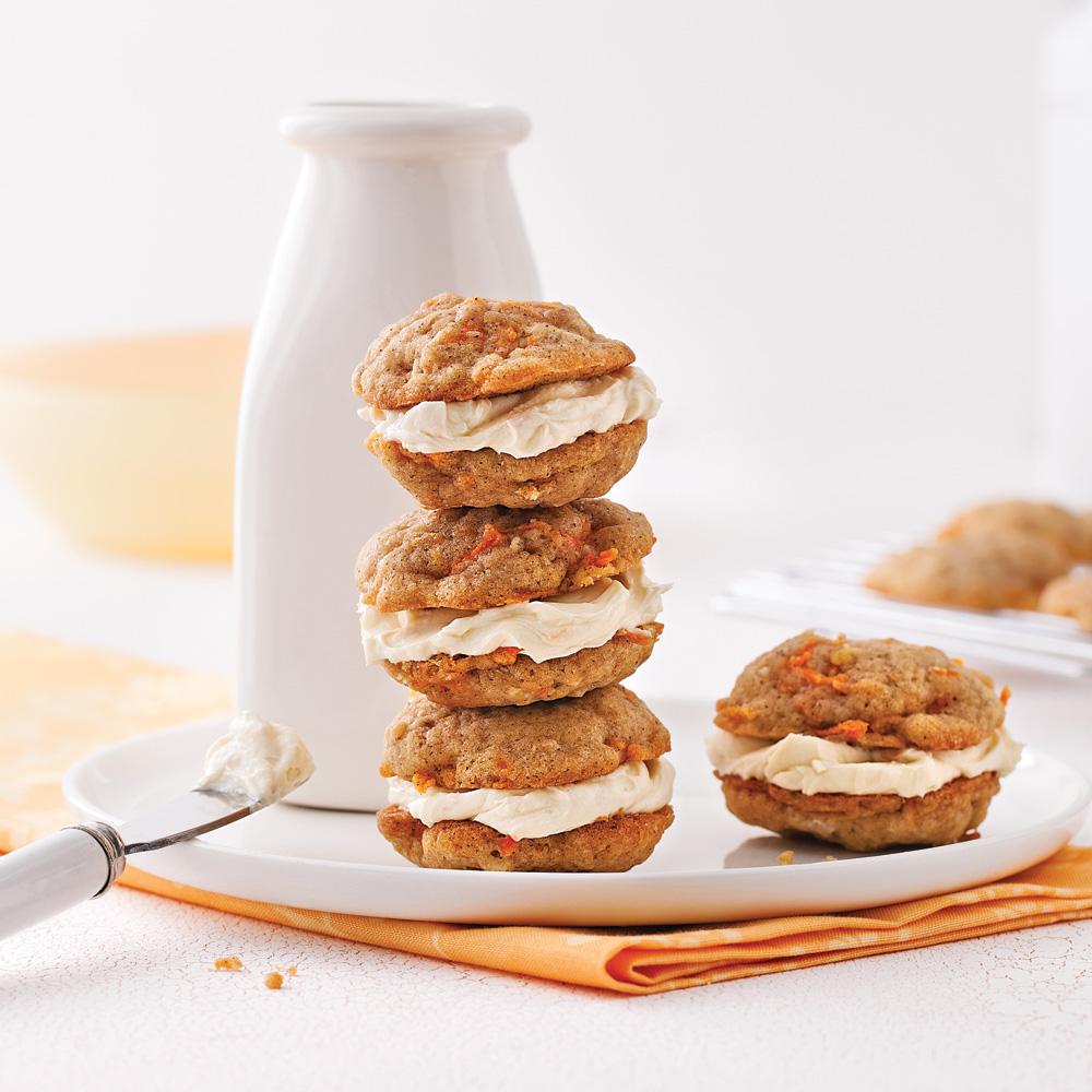 Biscuits gâteau aux carottes