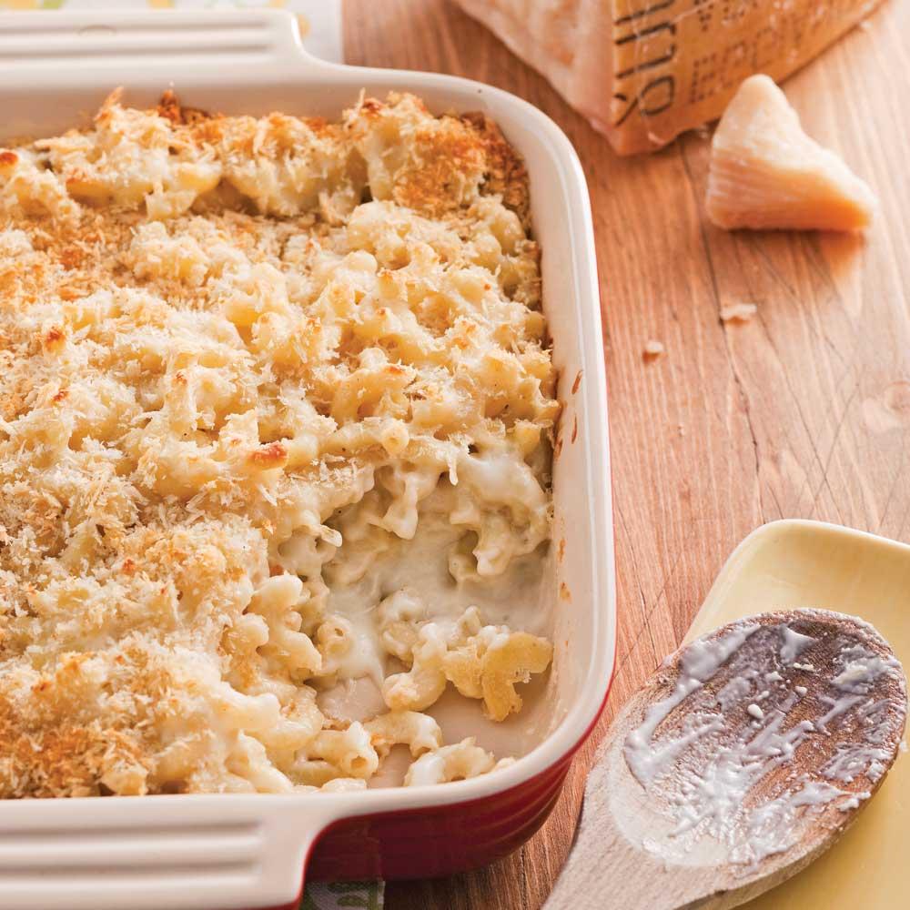 Macaroni aux trois fromages