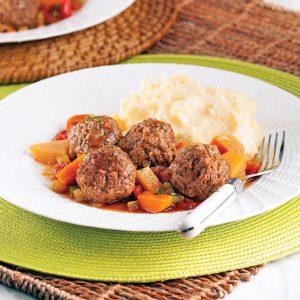 Stew aux boulettes de boeuf