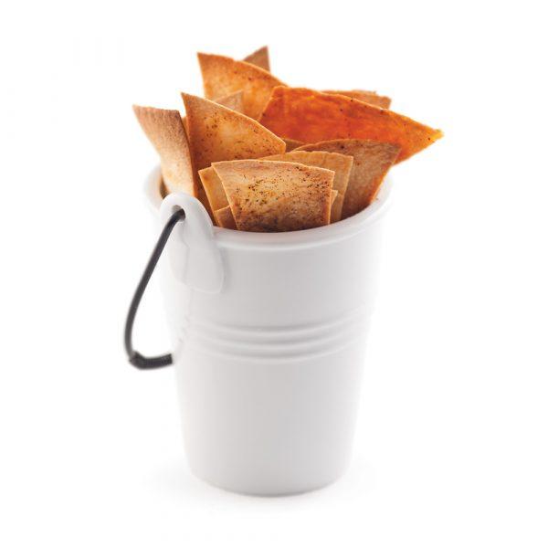 Chips de tortillas épicés
