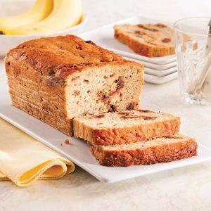 Pain aux bananes et dattes sans gluten