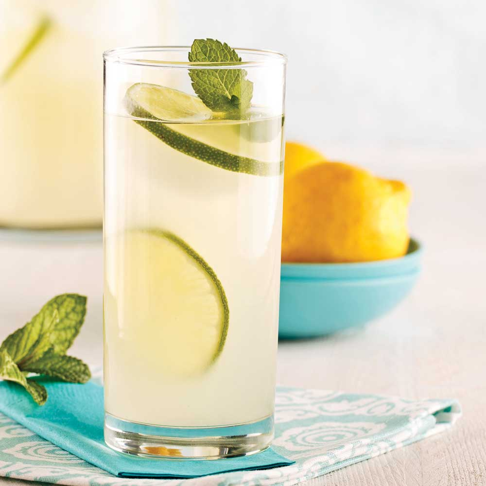Limonade gin-gingembre