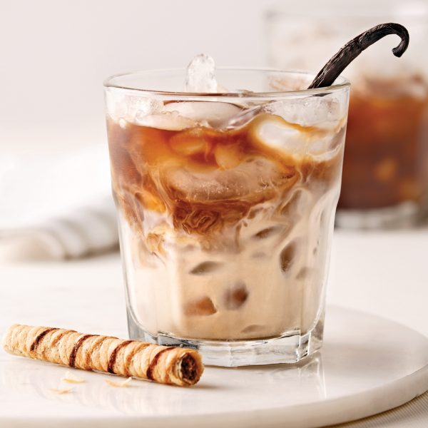 Café glacé alcoolisé