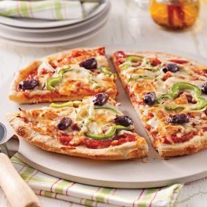 Pizza maison toute garnie