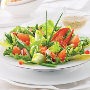 Salade de homard au pamplemousse