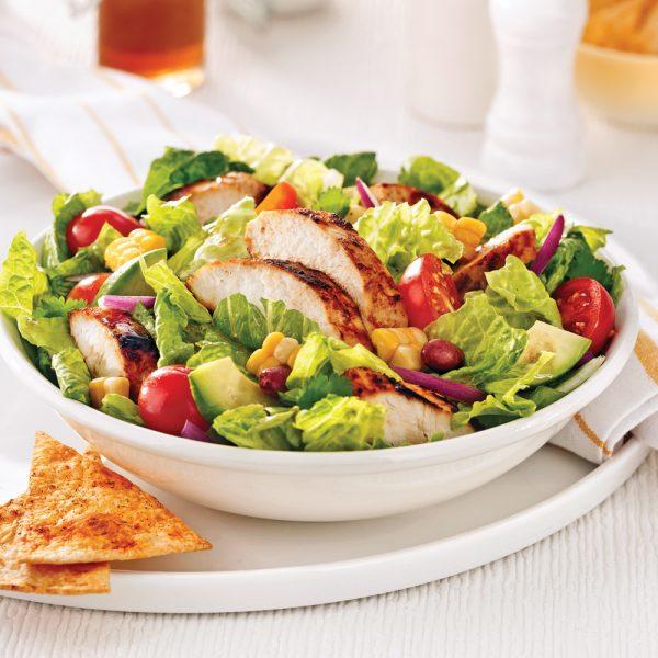 Salade mexicaine au poulet
