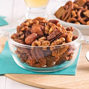 Mélange de noix aux épices