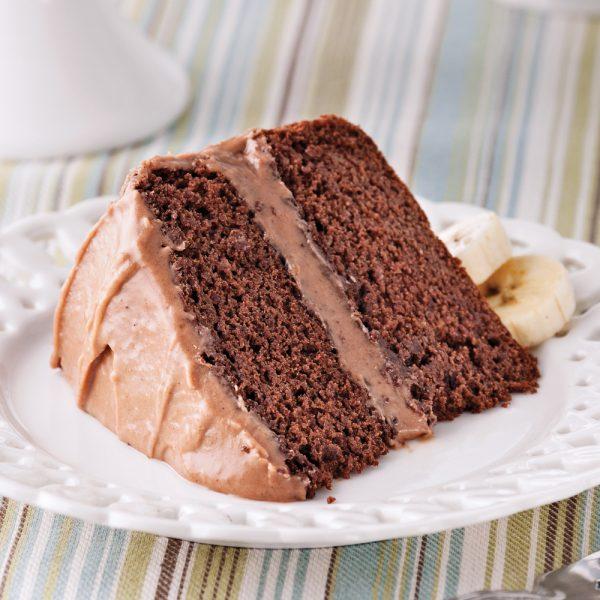 Gâteau choco-banane