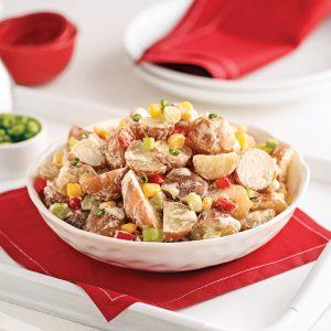 Salade de pommes de terre allégée