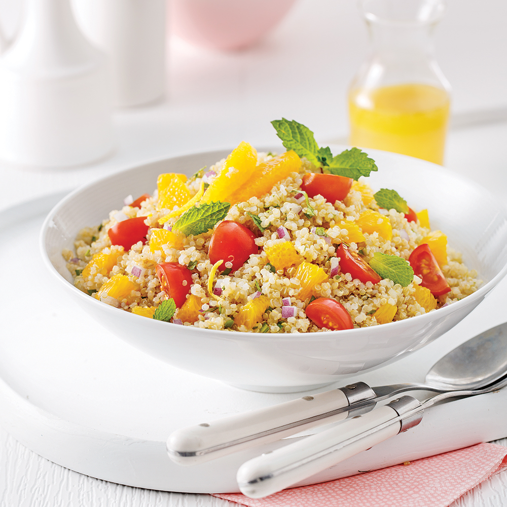 Salade fraîcheur au quinoa
