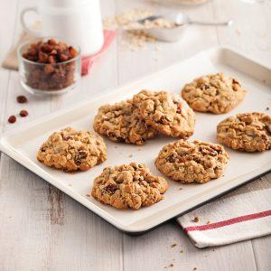 Galettes avoine et raisins